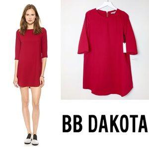 BB DAKOTA Burgundy Red Jazlyn Dress Size Small
